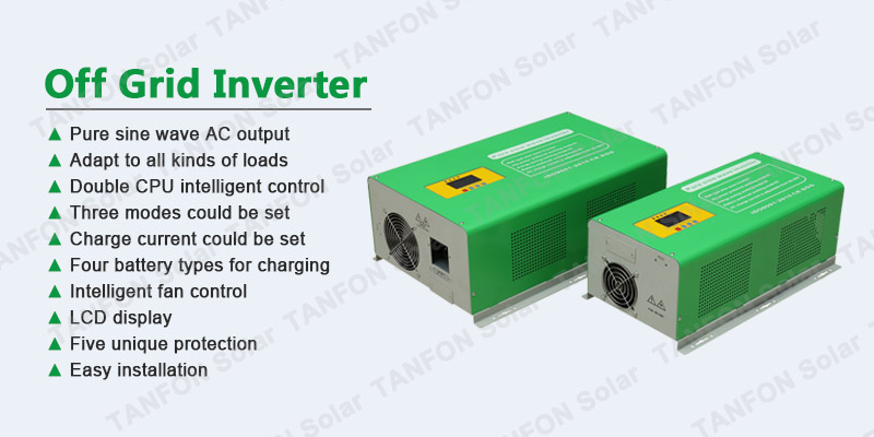 5000 watt off grid solar power inverter