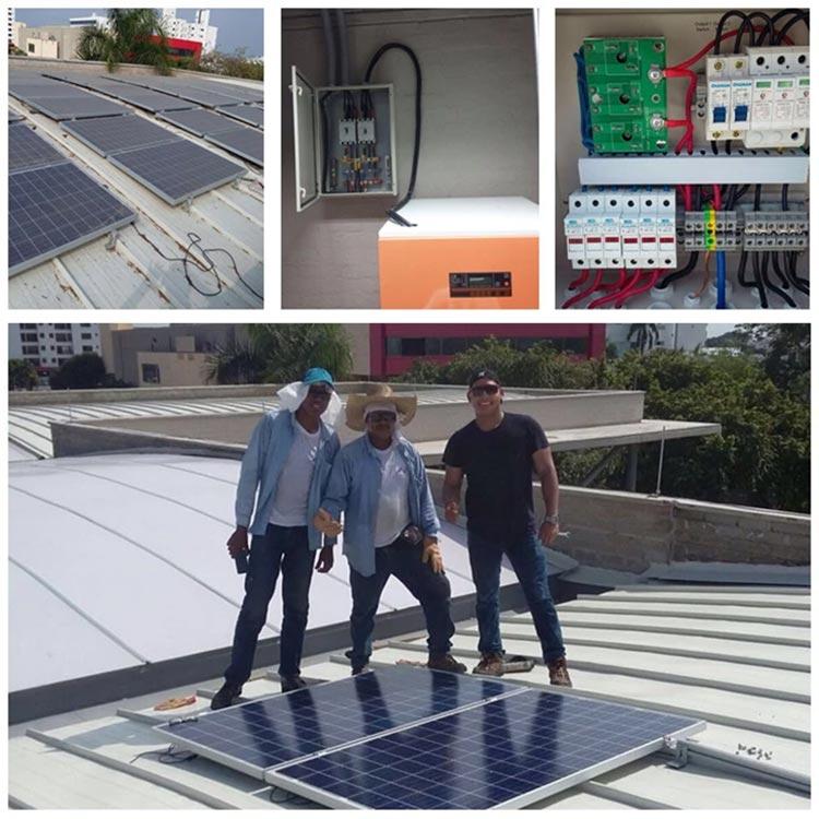 Tanfan HBF series 1kva to 3kva on grid solar inverter