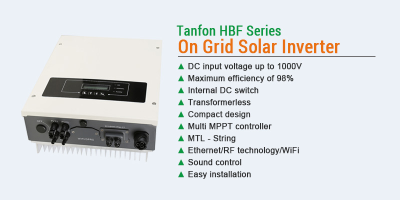 Tanfan HBF series 4kw to 6kw grid tie power inverter