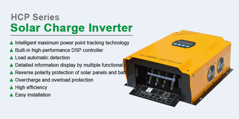 Tanfon HCP series 50A 75A 100A solar charge controller