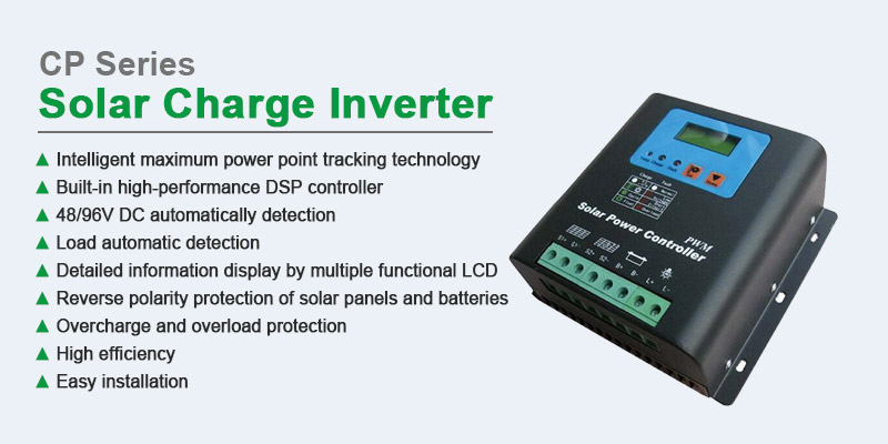 CP series PWM 24V 40A 60A solar charge controller