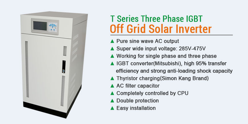 30KW three phase inverter