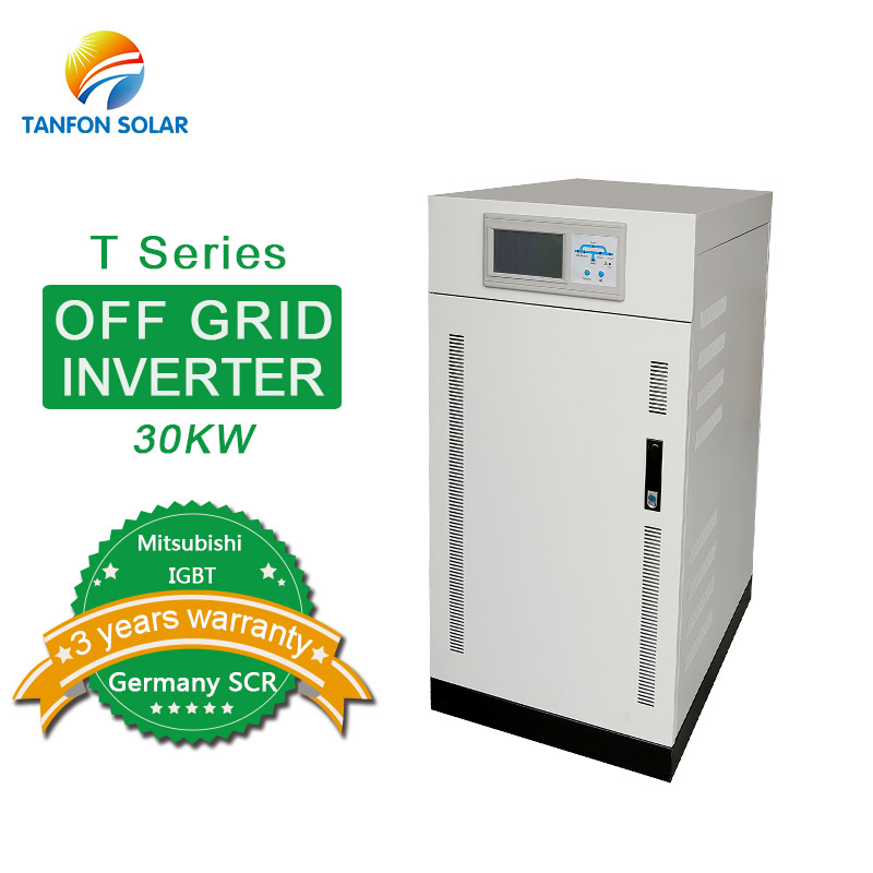 off grid 30kw three phase inverter 100kw solar inverter with IGBT material