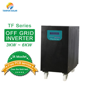 Off grid single phase 3KW 4KW 5KW 6KW solar inverter