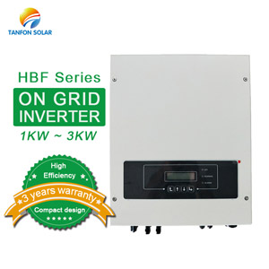 Single phase 1KW 2KW 3KVA on grid solar inverter