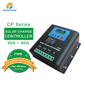 PWM 24V 40A 60A solar charge controller