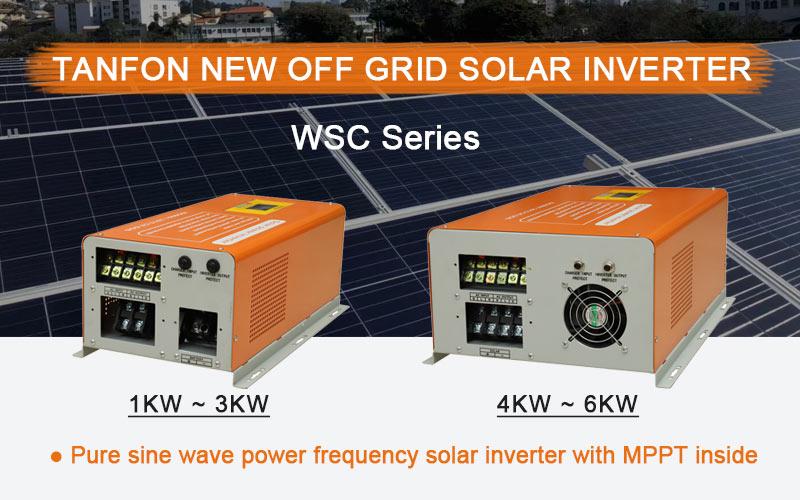 Tanfon new solar inverter