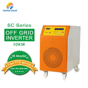 Off grid 10kw single phase solar inverter