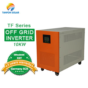 Off grid single phase 10KW IGBT solar inverter