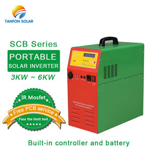 SCB series portable solar inverter generator