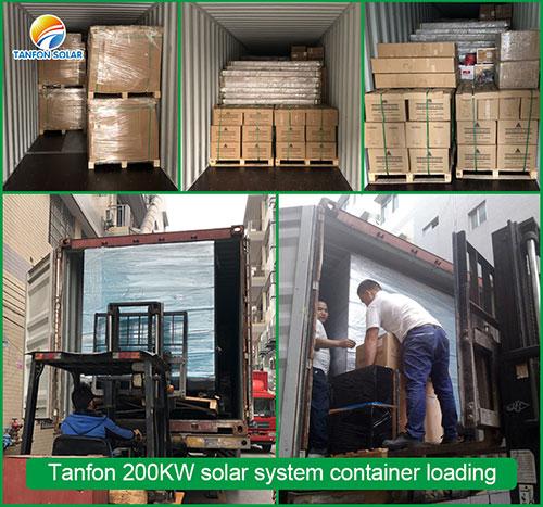 200KW inverter loading