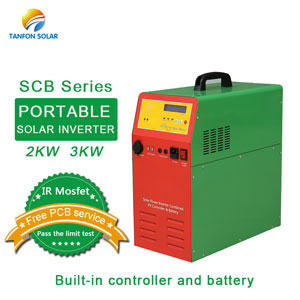 Portable inverter 2kw 3kw mobile solar generator