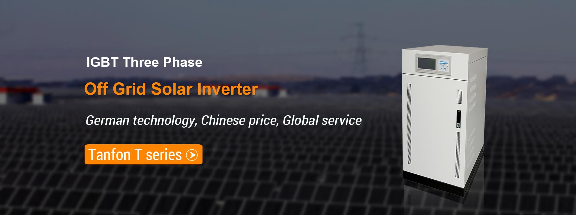 T series off grid solar inverter IGBT