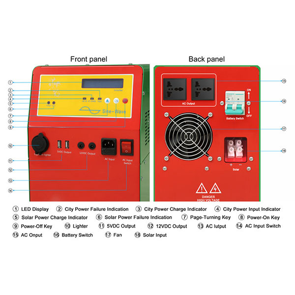 5kw off grid solar inverter price