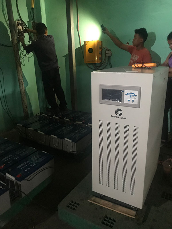 Three phase off grid 20kw solar inverter