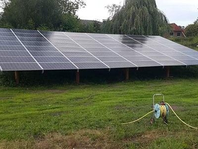 Tanfon three-phase 20kw inverter solar system for rural irrigation in Germany