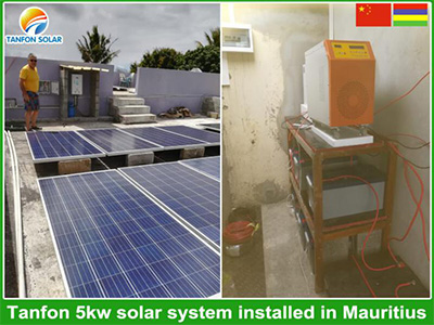 Hybrid pure sine wave inverter in Mauritius