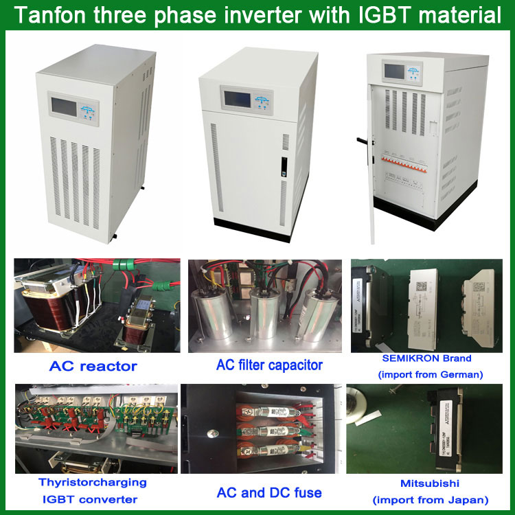 Tanfon-three-phase-inverter-with-IGBT-material