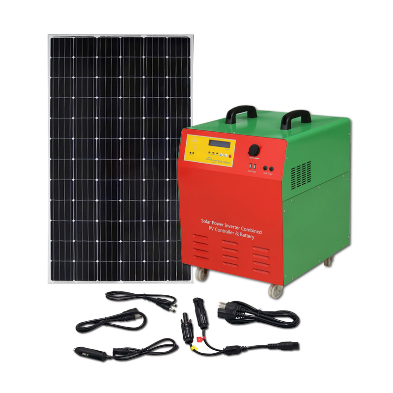 All in one inverter 500w portable solar generator