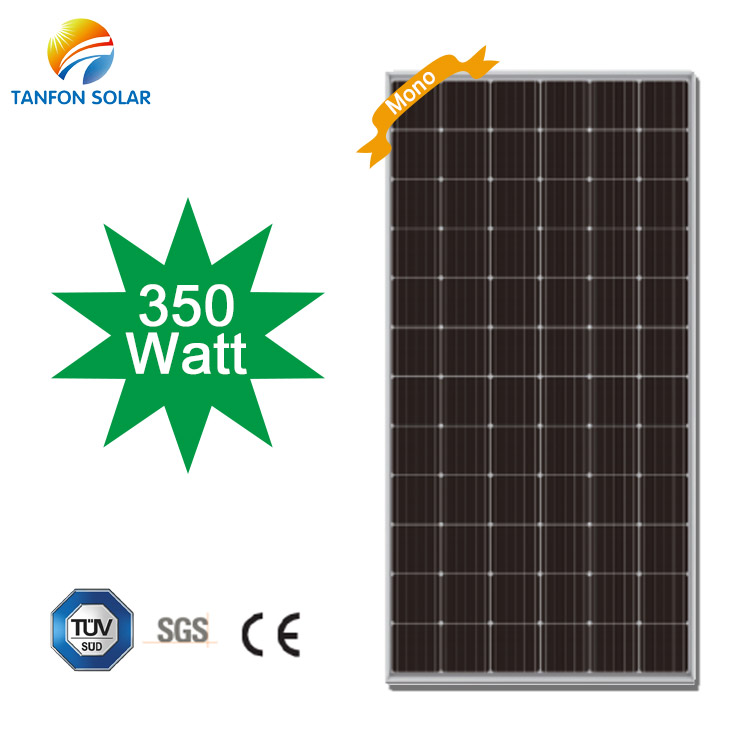 Tanfon 350W Solar Power Monocrystalline Panel Price