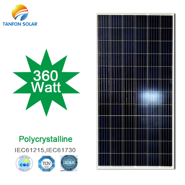 Best Solar Panels in The World 360W Polycrystalline Solar Panel