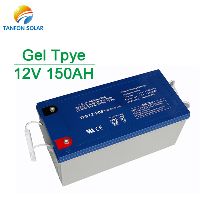 Home Solar Power Storage 12V 150AH Solar Battery