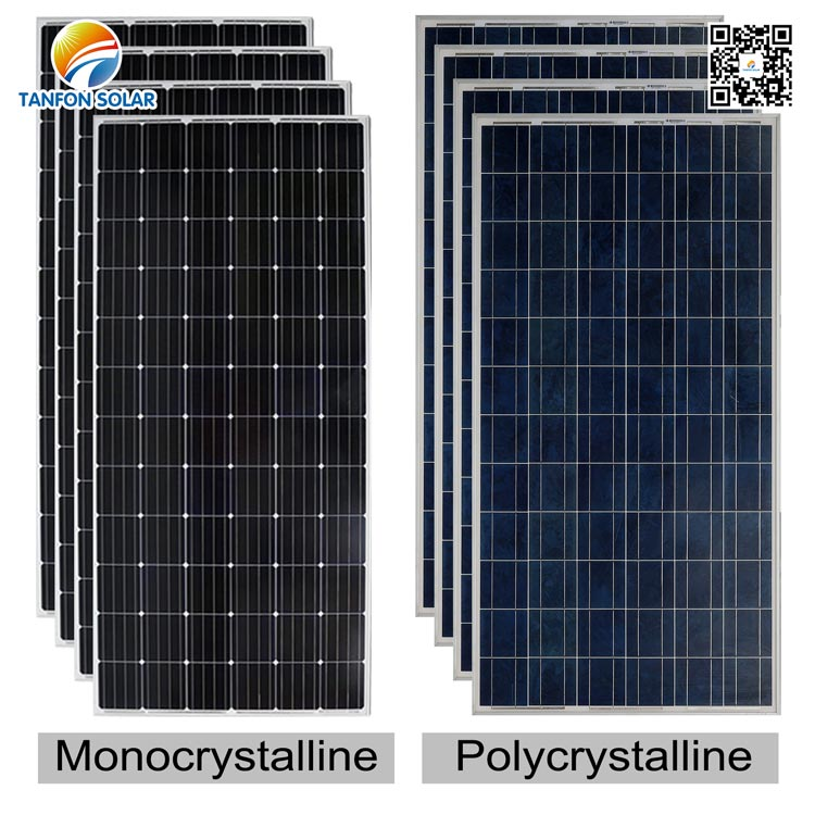 What is the difference between poly panel and mono panel ?