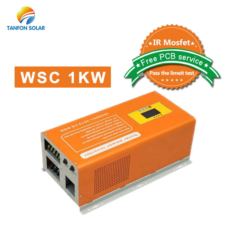 1kw pure sine wave inverter solar system use
