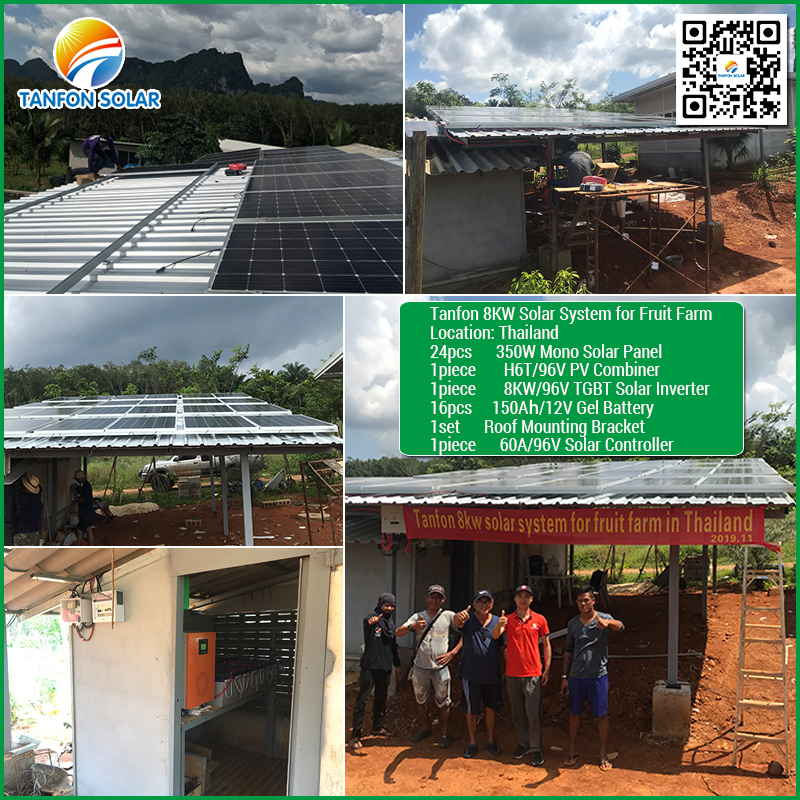8KW PV panel solar power inverter for home system