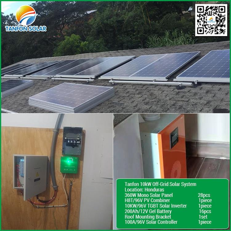 12KW power solar panel inverter dc to ac sine wave inverter with charger