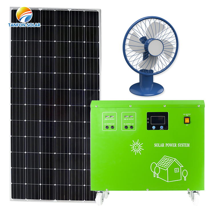 Hot sales 1000w 1kw 1KVA solar panel kits all in one system