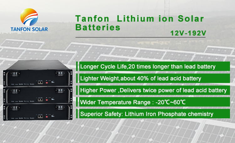 lithium battery advantage
