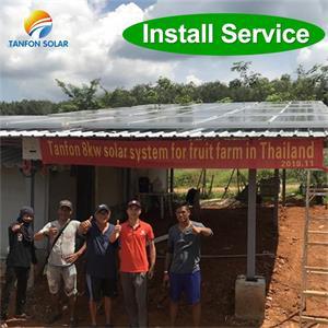 solar system for farm