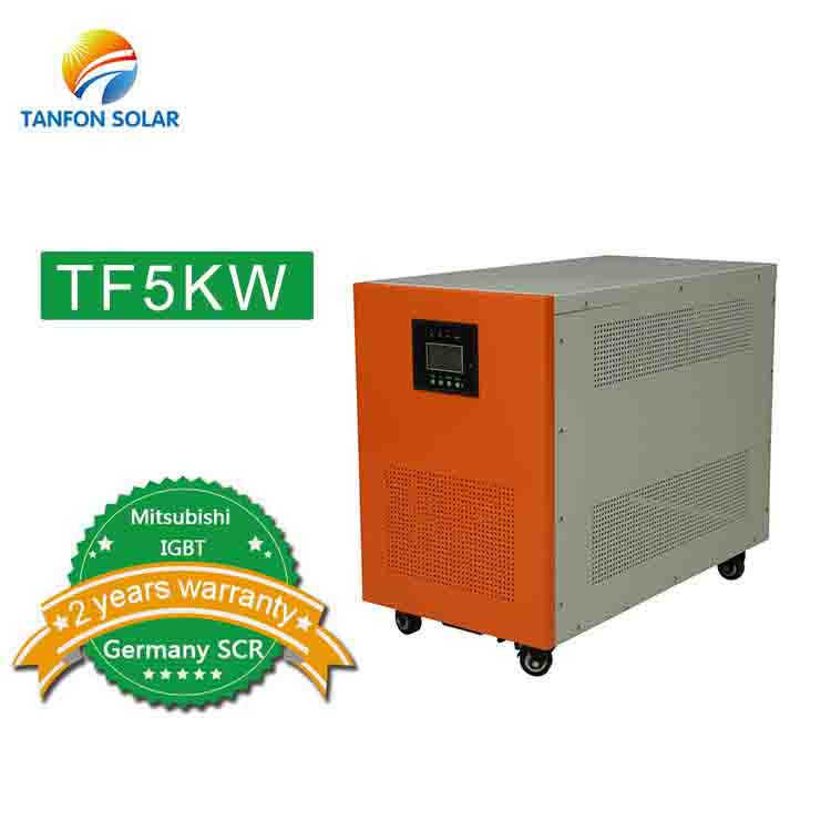 inverter solar power system 5000w single phase inverter price