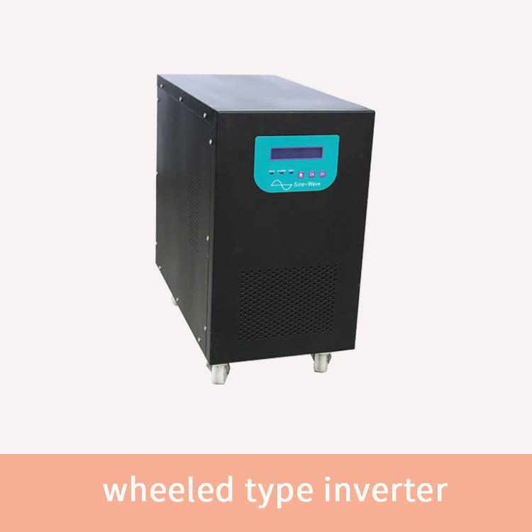 wheeled type pure sine wave inverter 300w-10kw