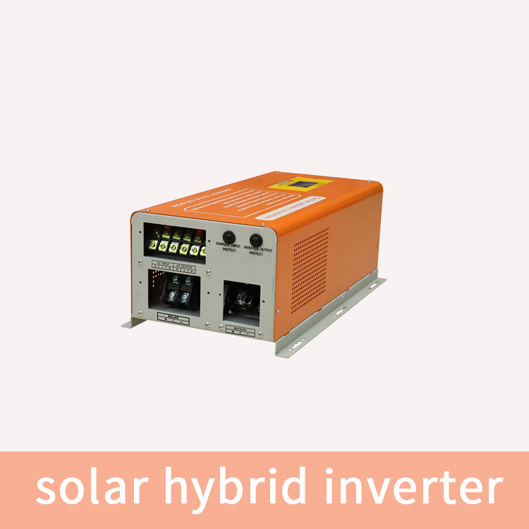 hybrid inverter with solar battery charging 5KVA solar inverter without batterry