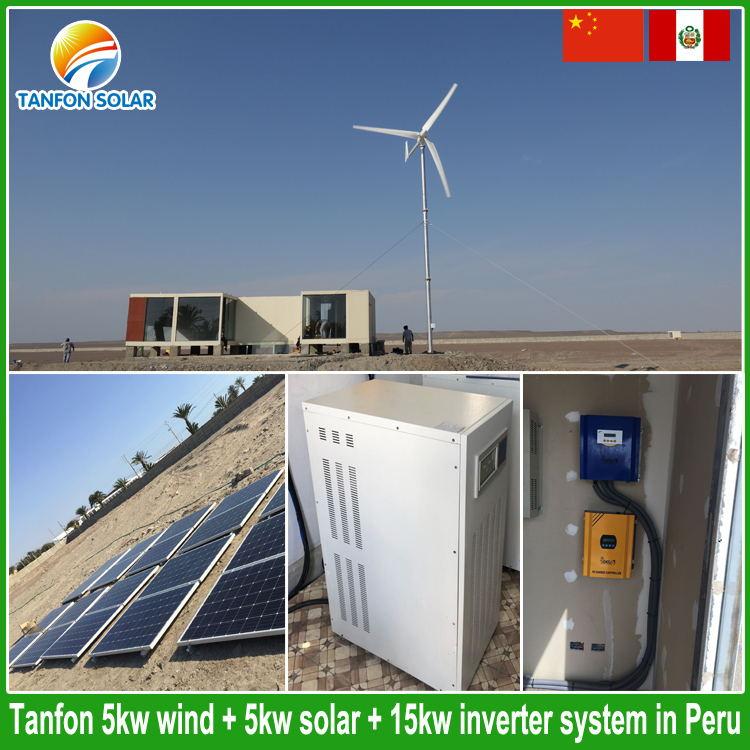 solar wind system