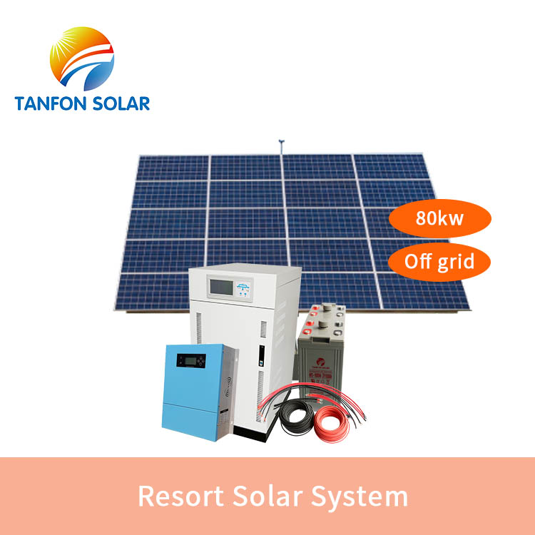 3 phase solar system 80kw PV power energy system in Nigeria