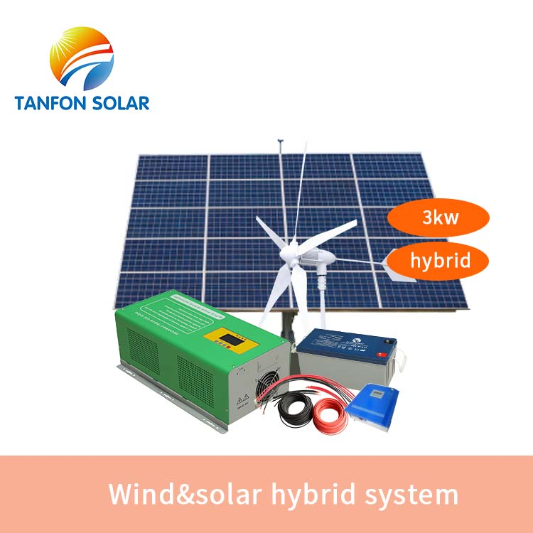 wind&solar hybrid system 1kw-30kw