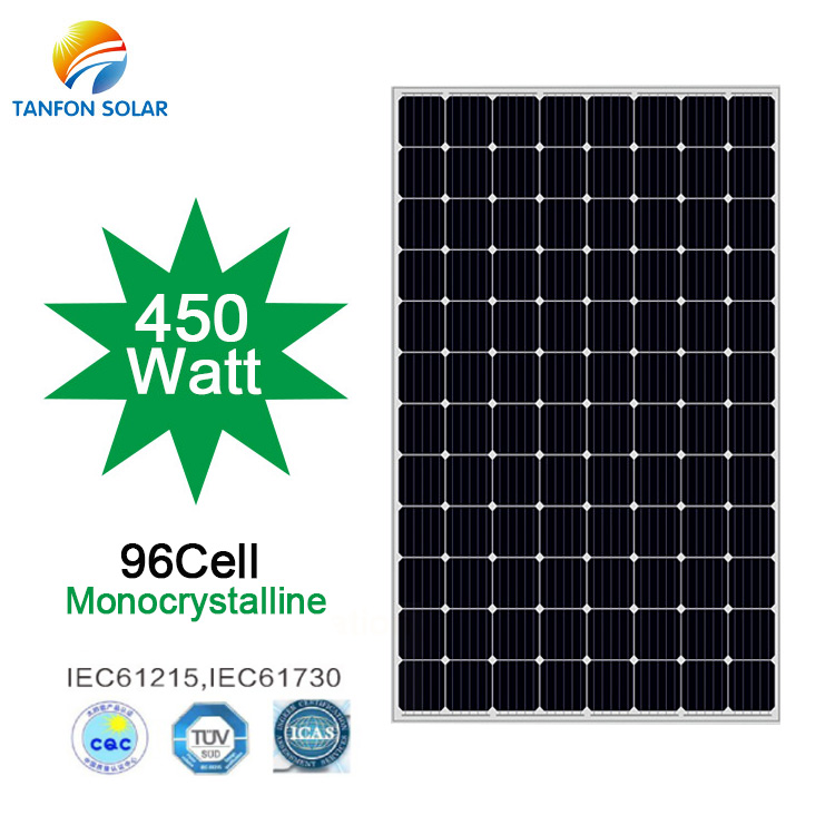 best price 460W solar panel for roof house in Ukraine