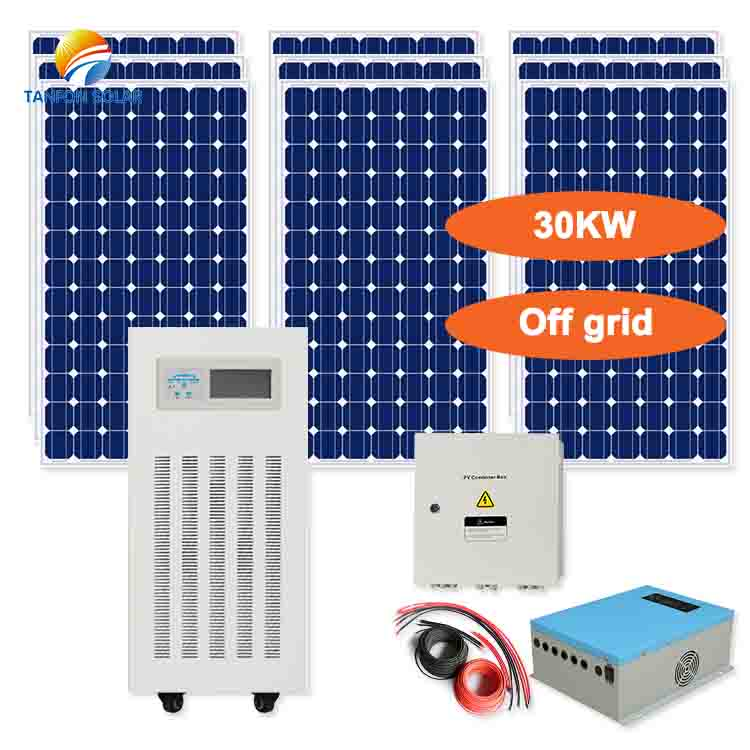 Three phase solar power generator 30kw 220V/380V