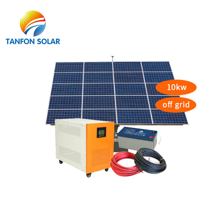 China Supplier Photovoltaic Systems 10kw 9kw Complete Solar System For Home