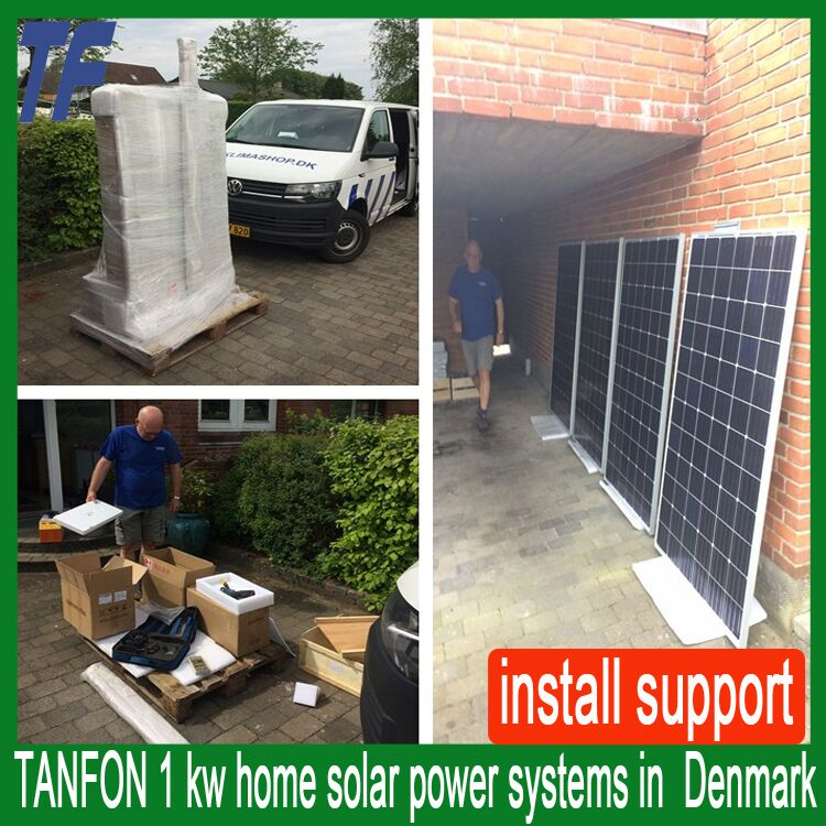 solar power system home 2kw with lithium battery Energy storage