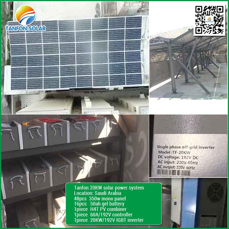 Commercial use 20kw Solar Energy System Ground Mount Solution Supplier