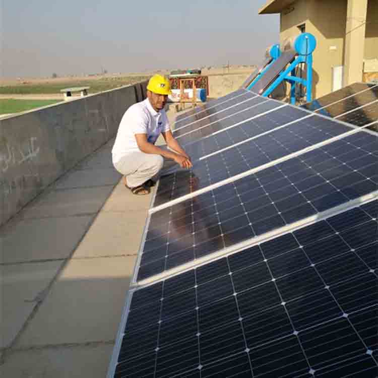 Industrial use solar system 25kw with gel or lithium battery
