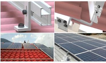 solar panel mounting rack