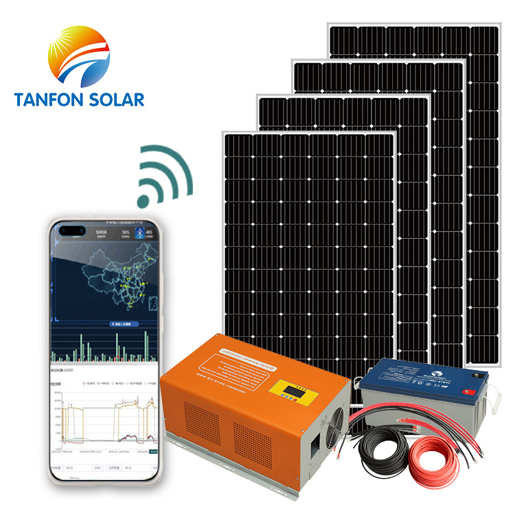 3kw 13amp solar panel kit system