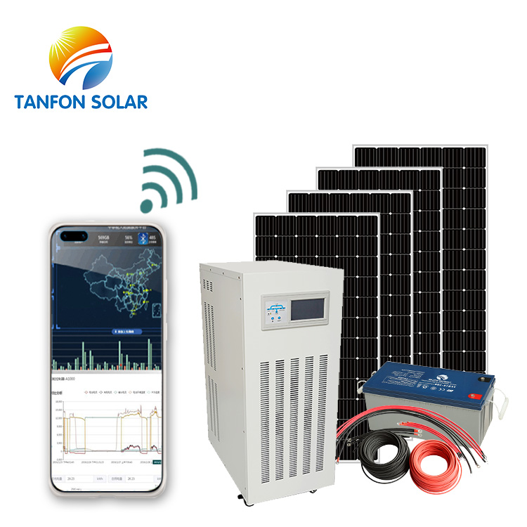 battery backup system 90amp solar home system