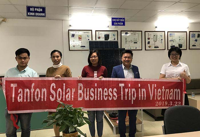 Vietnam off grid 8000w solar power system for home