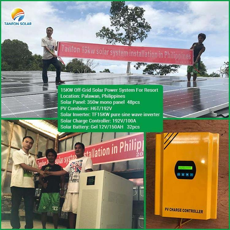 Philippines off grid solar inverter system with lightning protection function